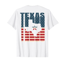 Load image into Gallery viewer, Lone Star Texas TShirt American Flag Shirt Patriot Gift