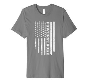 American Flag Powerstroke T-Shirt