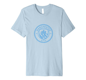 Manchester City - Mono crest tee