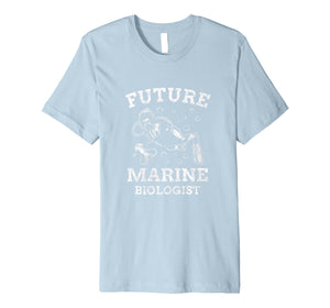 Marine Biology Shirt Future Marine Biologist Science Diver