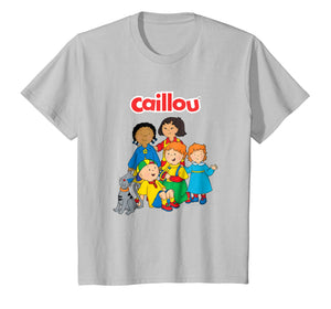Kids Caillou Child's T Shirt - Friends and Family