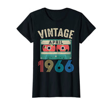 Load image into Gallery viewer, April 1966 shirt Vintage 53rd Birthday Gift Ideas Men Women