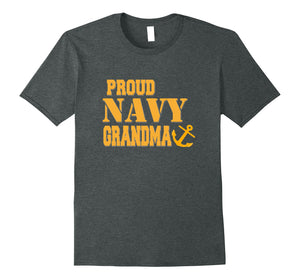 Proud US Navy Grandma Shirt Military Pride T Shirt