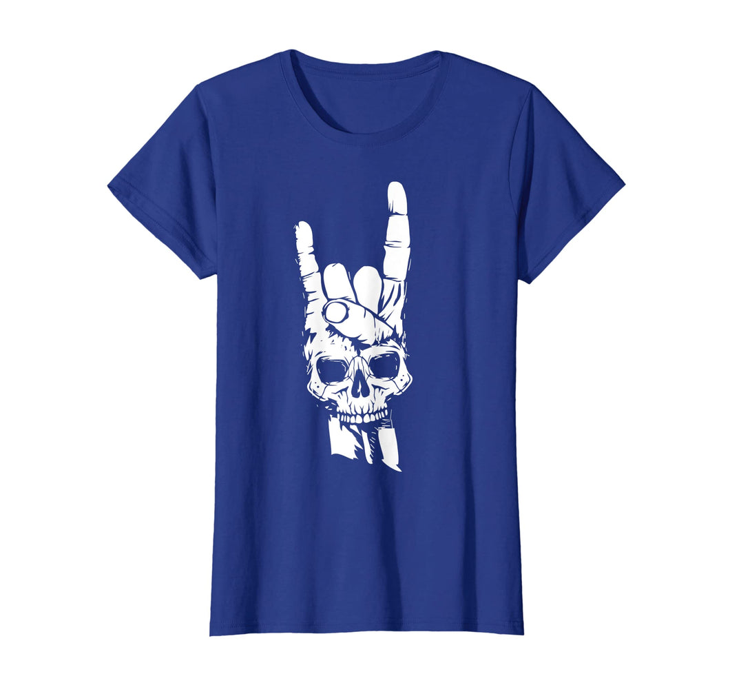 Skull Sign Of The Horns Shirt | Cute Rock On T-shirt Gift