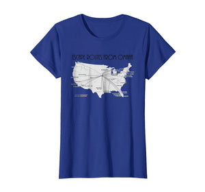 Escape Routes From Omaha - Nebraska Travel T-Shirt