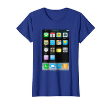 Load image into Gallery viewer, Cell Phone Smartphone Mobile App Halloween Costume T-Shirt