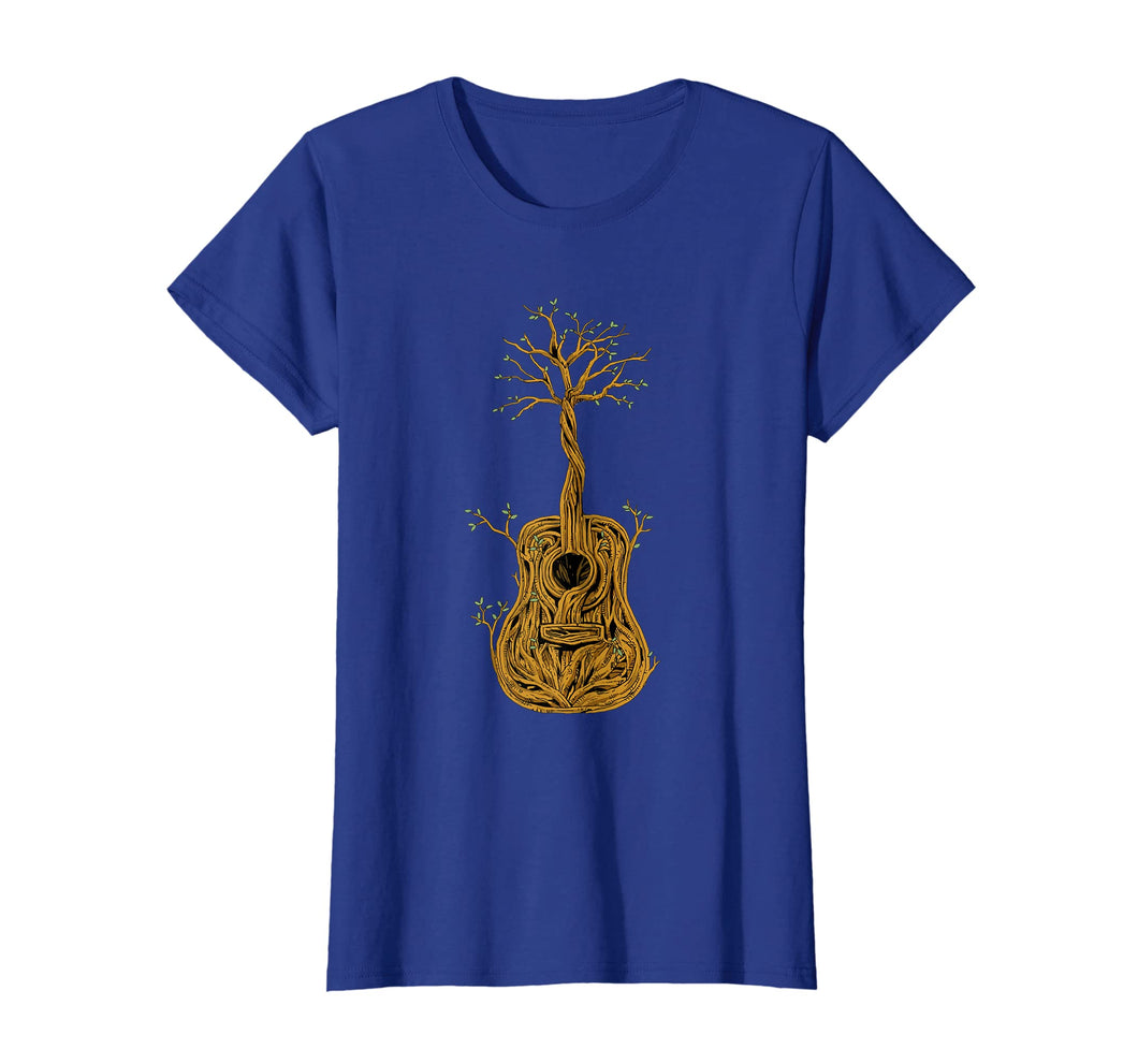 Acoustic Guitar Tree of Life T-Shirt Nature Guitarist Gift