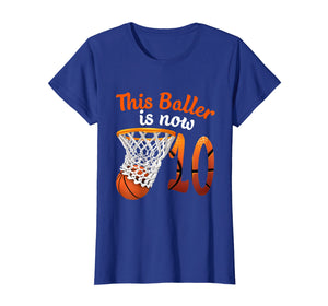 10th Birthday Basketball T-Shirt Funny 10 Years Old Gift