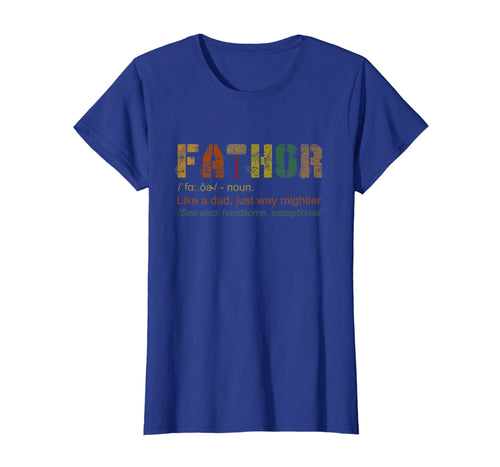 Cool Fathor Definition Like A Dad T-Shirt Gifts Father's Day
