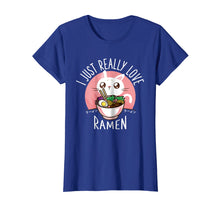 Load image into Gallery viewer, Love Ramen Japanese Noodles T-Shirt Kawaii Anime Cat Gifts