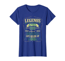 Load image into Gallery viewer, 80th Birthday Gifts The Man Myth Legend April 1939 T-Shirt