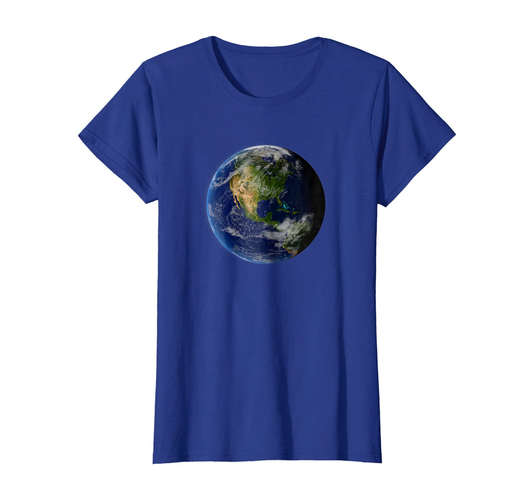 Planet Earth Globe Stylized T-Shirt