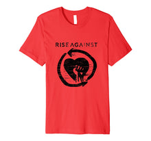 Load image into Gallery viewer, Rise Against Heartfist T-Shirt - Official Merch