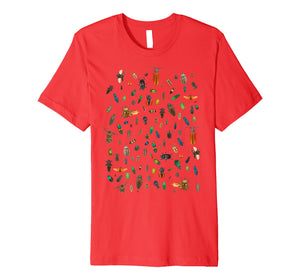 Bugs! Adorable shirt crawling with Bugs Cute play t-shirt