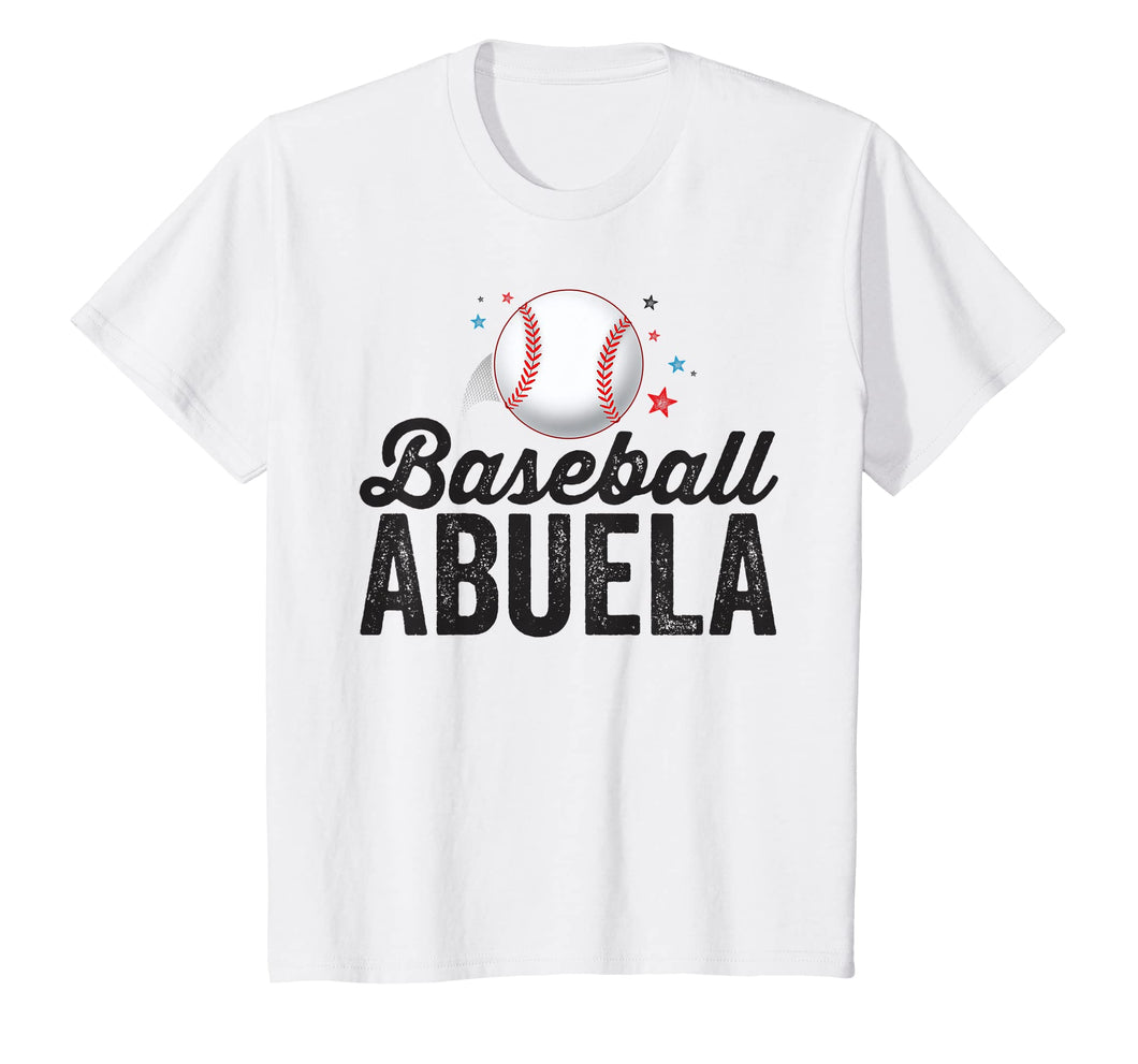 Baseball Abuela T-Shirt Grandma Grandmother Latina Gift