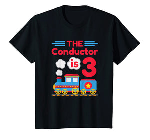 Kids Train Shirt - 3rd Birthday