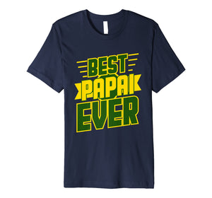 Best Papai Ever Awesome Brazilian Dad Brazil T-shirt Gift