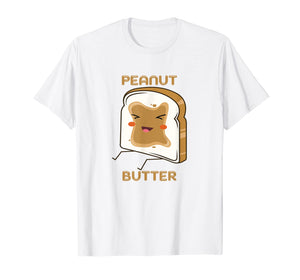 Matching couple friends peanut butter and jelly t-shirt