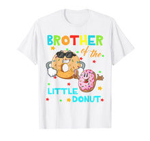 Load image into Gallery viewer, Brother Of The Little Donut Birthday Shirt Donut Shirt