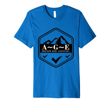 Load image into Gallery viewer, A~G~E Another Goal Executed! Logo Premium Fitted Tee