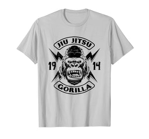 Jiu Jitsu The Ground Is My Safe Space Gorilla T-Shirt