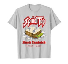 Load image into Gallery viewer, Spinals Tap - Shark Sandwichs Tour 1980 T-Shirt