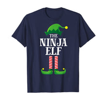 Load image into Gallery viewer, Ninja Elf Matching Family Group Christmas Party Pajama T-Shirt