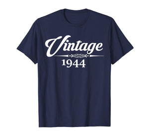 Born In1944 75th Birthday Gift 75 Years old T-Shirt