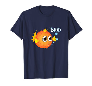 Puffer Fish T-Shirt funny Trendy Balloonfish Tee for Kids
