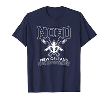 Load image into Gallery viewer, New Orleans Fire Department T Shirt Firefighter