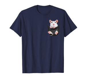rat inside pocket tee shirts