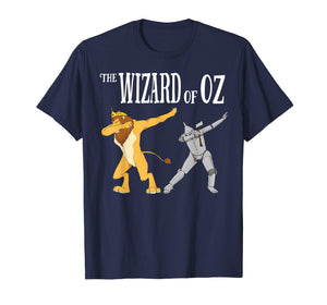 Cowardly Lion & Tin Man Dab T-Shirt -The Wizard Of Oz TShirt