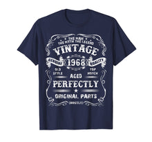 Load image into Gallery viewer, Mens 51th Birthday T-Shirt Legend Vintage 1968 Original Parts Tee