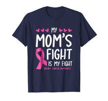 Load image into Gallery viewer, My Mom's Fight Is My Fight Breast Cancer Awareness Shirt