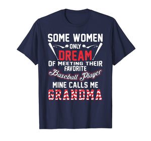Baseball Grandma T Shirt, Baseball Player Grandma Gift