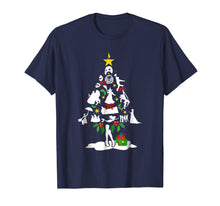 Load image into Gallery viewer, Broadway Musical Theatre Christmas Tree T- shirt
