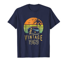 Load image into Gallery viewer, 1969 Vintage 50th Birthday Gift Hippie Van Surfer Shirt