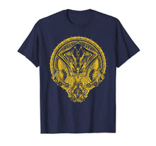 Load image into Gallery viewer, Warframe Loki Prime - Gold Print t-shirt - WFM015B
