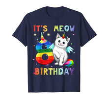 Load image into Gallery viewer, Kids Cute Kitten Kitty Cat 8th Birthday Girl Shirt Kid gift