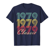 Load image into Gallery viewer, 40th Birthday T Shirt Gift Vintage 1979 Mom Dad Classic