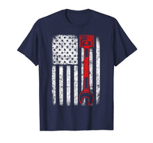 Load image into Gallery viewer, Mechanic American Flag T-Shirt