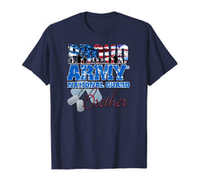 Load image into Gallery viewer, Proud Army National Guard Brother USA Flag Sibling Day Shirt