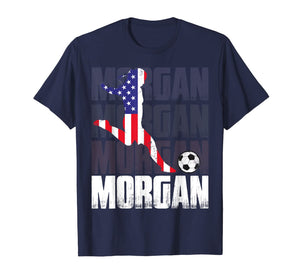 Morgan Soccer Womens Celebration Gift T-Shirt
