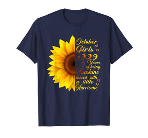90th Birthday Gifts October 1929 Being Sunshine T-Shirt