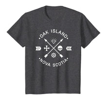 Load image into Gallery viewer, Oak Island Nova Scotia Arrows and Skulls Gift Shirt - White