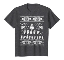 Load image into Gallery viewer, Merry Christmas Sign Language ASL Deaf Ugly Christmas Gift T-Shirt