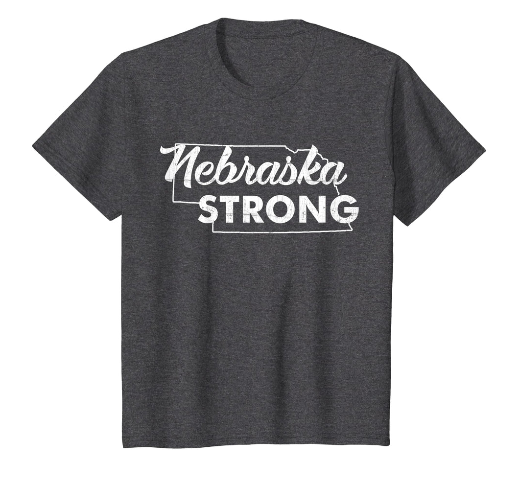 Nebraska Strong T Shirt vintage gift for men womens