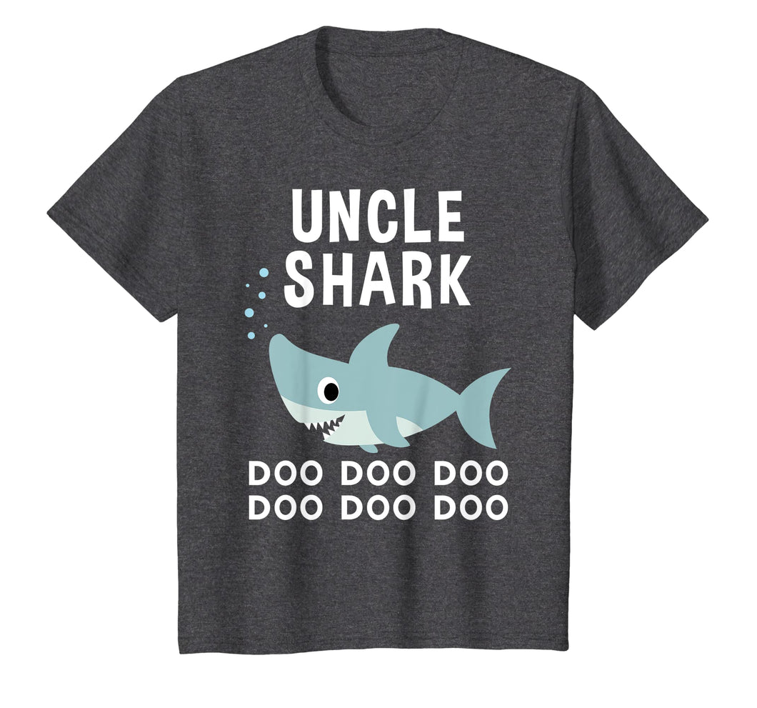 Uncle Shark Doo Doo Shirt for Matching Family Pajamas