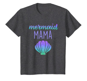 Mermaid Mama Mom Mermaid Birthday Party Shirt