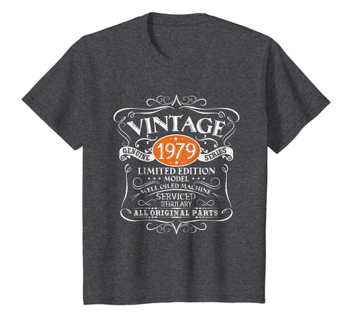 Vintage 1979 40th Birthday All Original Parts T-Shirt